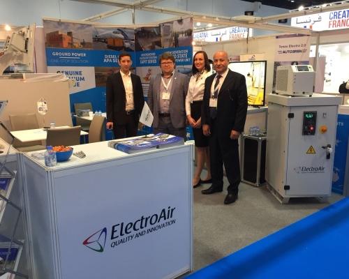 ElectroAir participation in Airport Show 2018 in Dubai