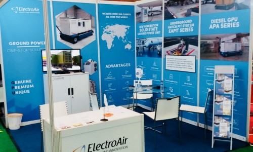 The gate to the future is open – ElectroAir took part in Airport Solutions Indonesia 2017!
