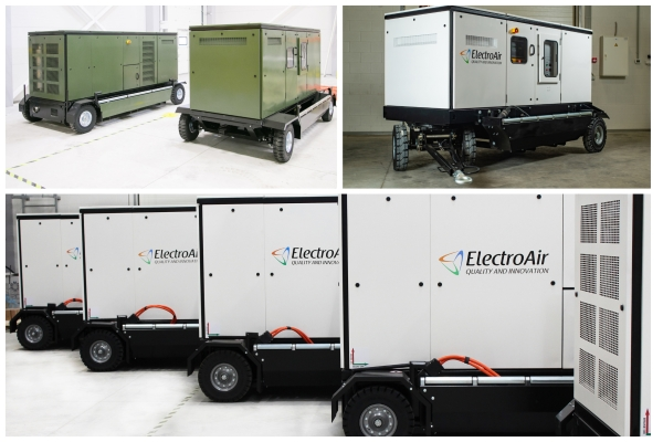 electroair production diesel engine driven apa
