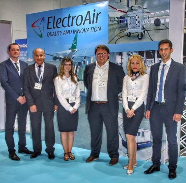 ElectroAir team took a part in Airport show Dubai